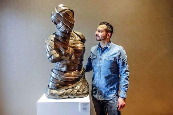 Stathis Alexopoulos Solo Exhibition in Makedonia Palace Hotel