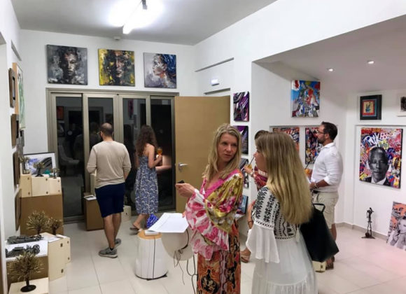 Group Exhibition in ArtPlace by Loudos Fine Art in Domes Miramare, Corfu, Greece