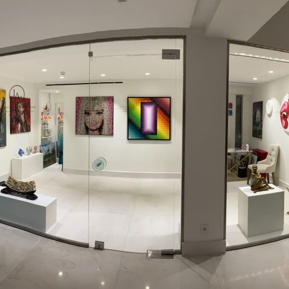 Opening of Loudos Fine Art Corfu in Domes Miramare, A Luxury Collection Resort